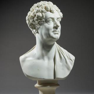 Royal Portrait Bust of King George IV