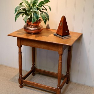 Light Oak Side Table