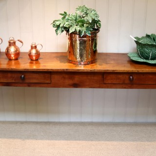 French Cherry Wood Dresser Base