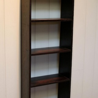 Small Proportioned Oak Open Bookshelves