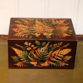 Mauchline Fernware Box