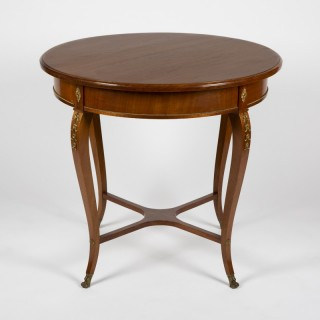 SWEDISH EMPIRE CENTRE TABLE, circa 1900