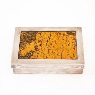 Decorative Cork Lined Box By R Debladis Paris