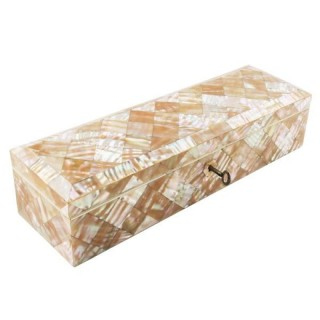 Mother of Pearl Fan or Glove Box