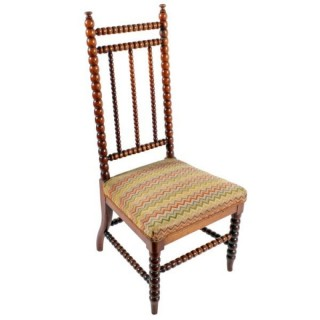 Victorian Walnut 'Bobbin' Turned Chair
