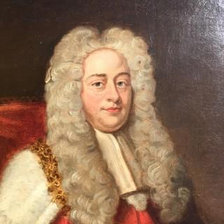 After Michael Dahl - Portrait of Earl Hardwicke