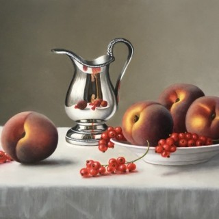 Peaches and Redcurrants