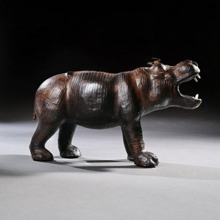 Mid 20th Century Liberty Of London Leather Hippo