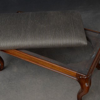 Early Victorian Rosewood Stool