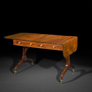 Regency Sofa Table, in the manner of Gillows