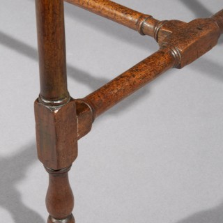 George III Chippendale Spider Leg Table