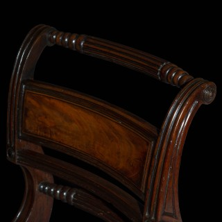 Set of Six Regency Klismos Chairs, attributed to Gillows