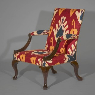 Georgian Gainsborough Armchair, Early 18th Century
