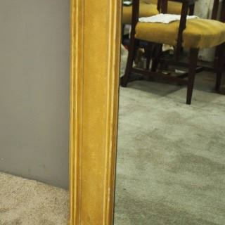 Adams Style Gilt Overmantel Mirror