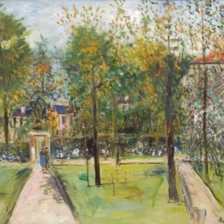 Maurice Utrillo - Le Parc de M. et Mme Utrillo au Vésinet