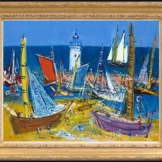 Jean Dufy - Port de l'Île d'Yeu