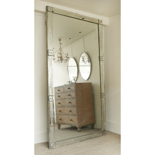 LARGE FRENCH VENETIAN MIRROR