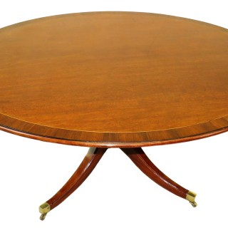 Georgian 18th Century Mahogany Oval Breakfast Dining Table
