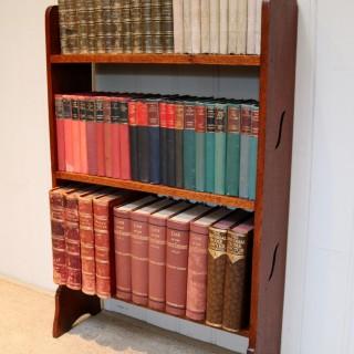 Oak Open Bookshelves