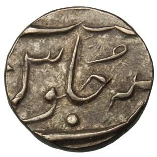 INDIA, EIC BOMBAY, SHAH ALAM II, SILVER 1/2 RUPEE
