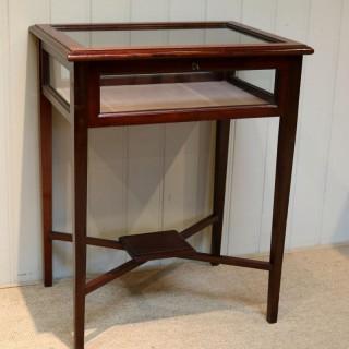 Mahogany Bijouterie / Display Table