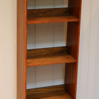 Small Proportioned Arts And Crafts Open Bookcase