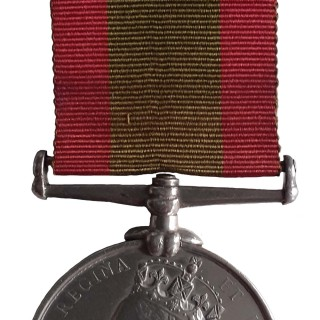 AFGHANISTAN MEDAL 1878-80 NO CLASP TO PRIVATE A. GIPPS 2/15 FOOT
