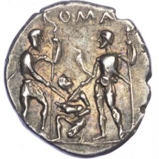 ROMAN REPUBLIC, T. VETURIUS, SILVER DENARIUS