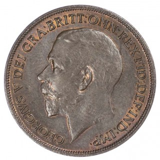 GEORGE V (1910-36), 1918 KINGS NORTON MINT, PENNY