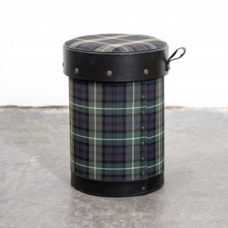 Jacques Adnet Covered Wastepaper Bin