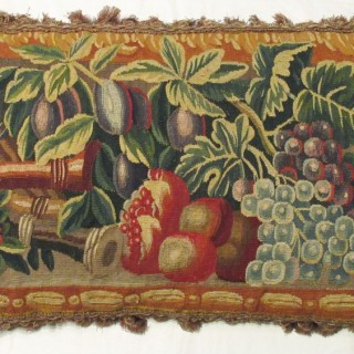 Fine Seventeenth Century Lille Tapestry Cushion