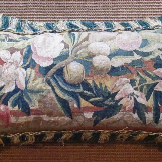 Seventeenth Century Brussels Tapestry Cushion