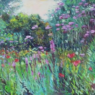 Dazzling Summer Garden