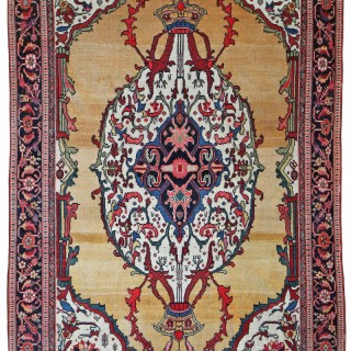 Antique Sarouk Fereghan rug