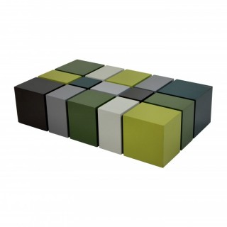 AN UNUSUAL CUBIST OCCASIONAL TABLE