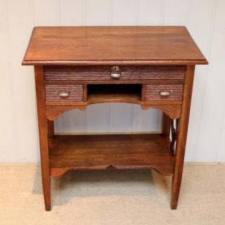 French Oak Side Table