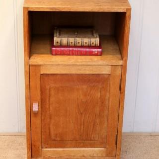 1930s Oak Bedside Cabinet