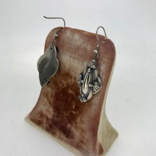 Victorian Silver Drop Earrings