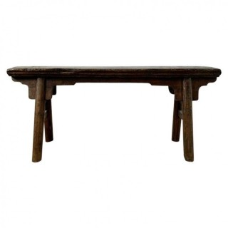Chinese Style Gate Bench