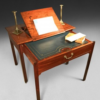 Chippendale Period Mahogany Architect's Table