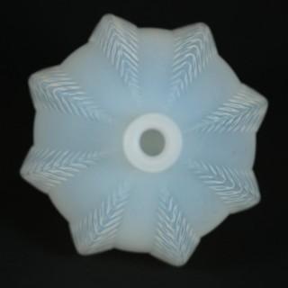 Rene Lalique Opalescent Glass 'Malines' Vase