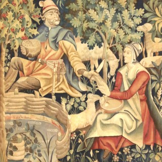 Late 19th century French Neo -Gothic Tapestry