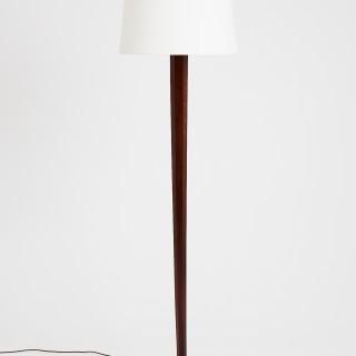 Art Deco Oak Floor Lamp