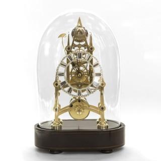 Small English Skeleton Clock