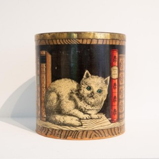 Early Fornasetti Library Bin