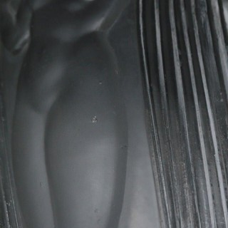Rene Lalique Clear Glass Danaides Vase