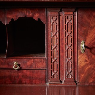 Important Documented George III 18th-Century Mahogany Linen Press by Gillows of Lancaster and London