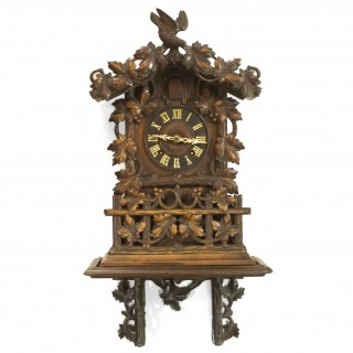 Fusee striking 8-day Shelf Cuckoo clock