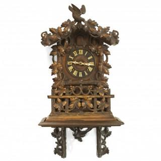 Fusee striking 8-day Shelf Cuckoo clock