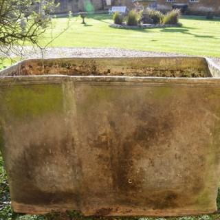 A fine 18th century lead cistern